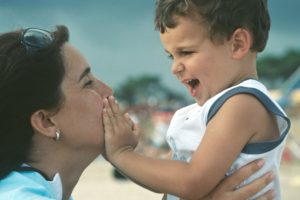 Mom and Son Neurologically Gifted