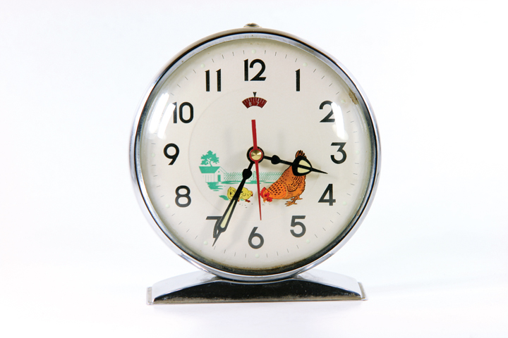 retro clock Neurologically Gifted